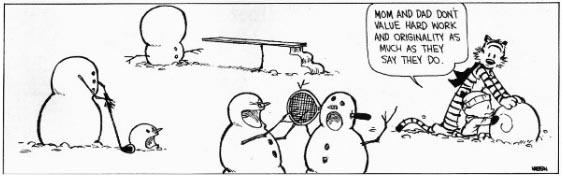 Calvin and Snowmen4