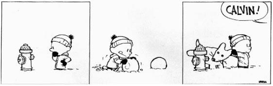 Calvin and Snowmen6