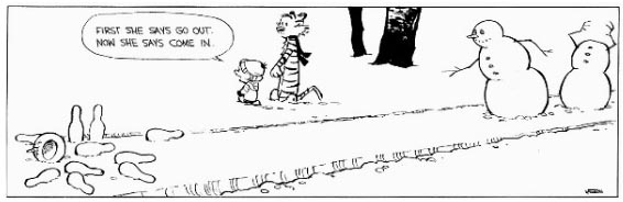 Calvin and Snowmen7