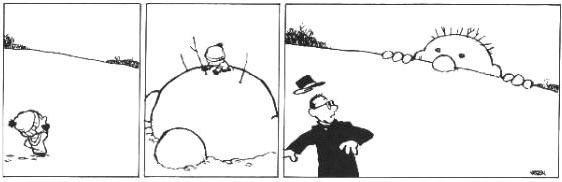 Calvin and Snowmen9
