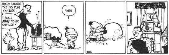 Calvin and Snowmen13