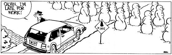 Calvin and Snowmen15