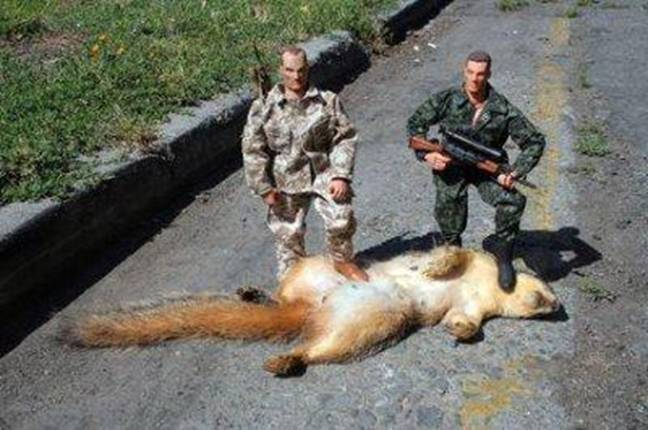 Why men shouldn\'t own action figures!